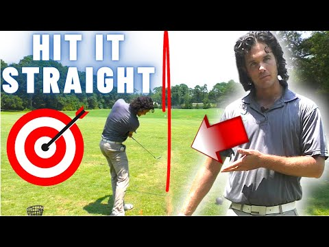 The Golf Swing Key That Gets You Hitting STRAIGHT (One Really Simple Golf Tip)