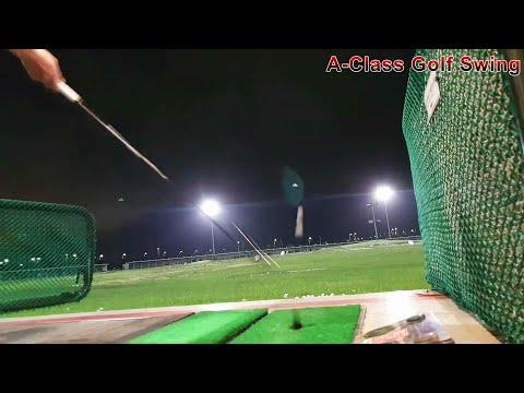 A-Class Golf Swing 인도어 골프연습