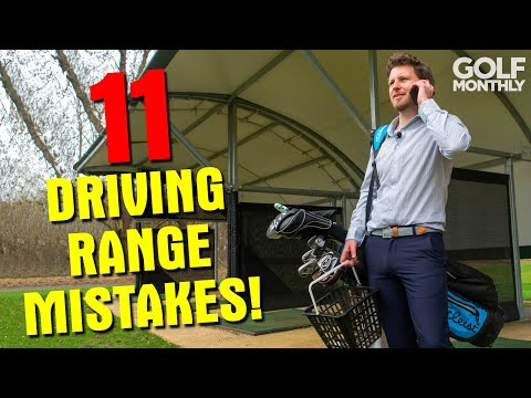 11 DRIVING RANGE MISTAKES!!