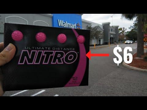 Cheapest Golf Ball at Walmart (Nitro Golf Ball Review)
