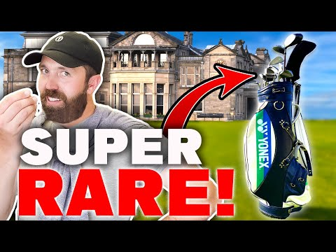 I buy RARE golf clubs in St Andrews – thrift shopping!