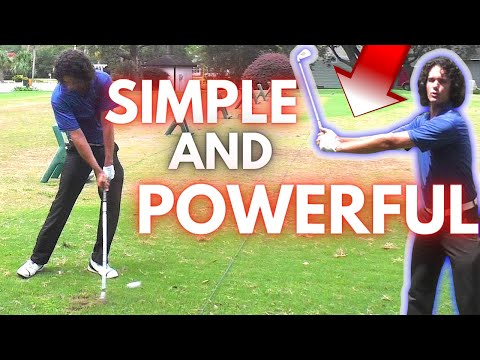 One EASY Golf Tip That Makes the Golf Swing so SIMPLE and POWERFUL