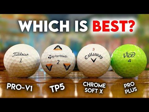 I was SHOCKED at the result…| Build My Bag | Golf Balls | Vice vs Pro-V1 vs TP5 vs Chrome Soft X