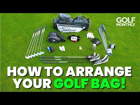 HOW TO ARRANGE YOUR GOLF BAG!!
