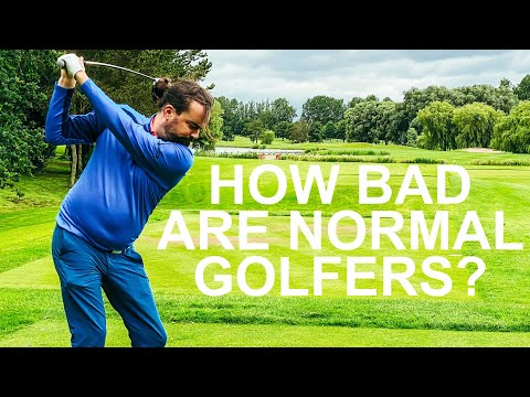HOW BAD ARE HANDICAP GOLFERS – MEDAL PLAY RYDER CUP GOLF COURSE