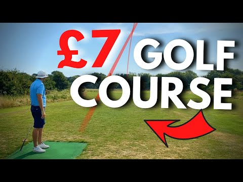 WE FOUND A GOLF COURSE FOR £7…