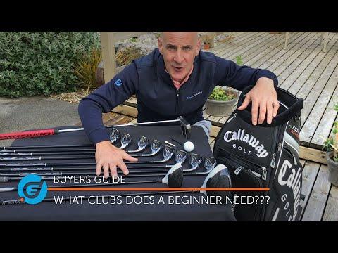 What GOLF CLUBS do beginners need?? [Golf Basics]