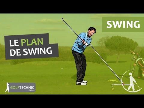 Tout savoir sur le plan de swing de golf. Comment améliorer son plan de swing