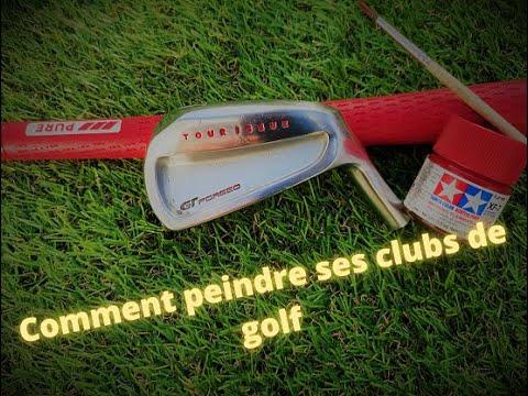COMMENT PEINDRE (FACILEMENT) VOS CLUBS DE GOLF !