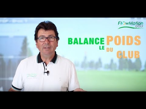 FlowMotion Golf: Swing the weight of the Club ! (English Subtitles)