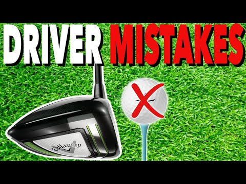 AVOID These 3 DRIVER MISTAKES – Simple Golf Tips