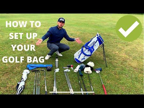HOW TO Arrange your GOLF BAG