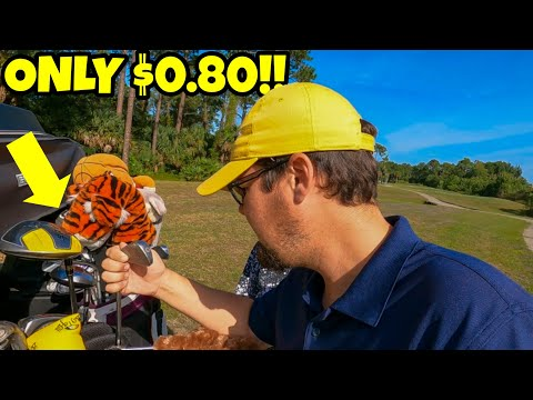 We Found TAYLORMADE & NIKE Golf Clubs For $0.80!!!