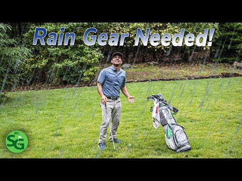 What is The Best Golf Rain Gear?