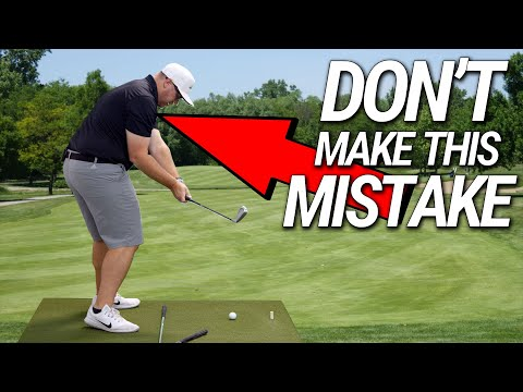 How To Easily Swing INSIDE OUT | Don't Make This Mistake