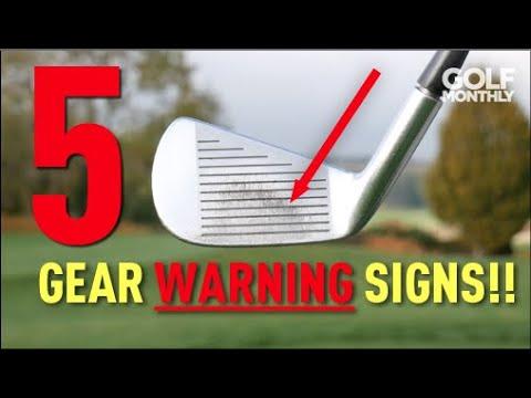 5 GOLF GEAR WARNING SIGNS!! Golf Monthly