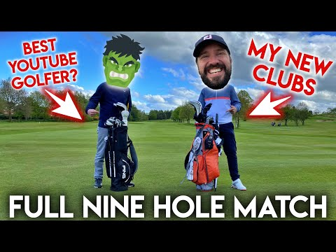 First Match With My New Clubs vs The Best YouTube Golfer?