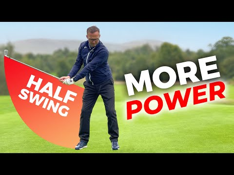 This SIMPLE crazy HALF GOLF SWING really WORKS