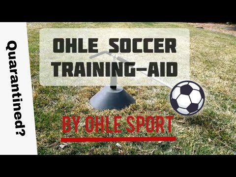 Ohle Soccer Training-Aid | Review + Drills | Train While Quarantined |
