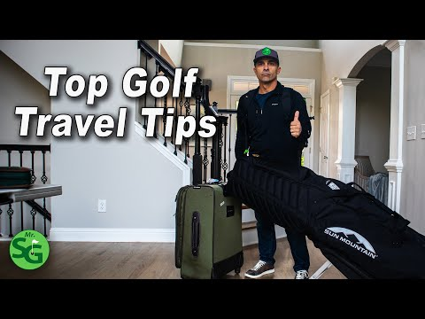 Top Golf Travel Tips –  Protect Yourself and Your Clubs