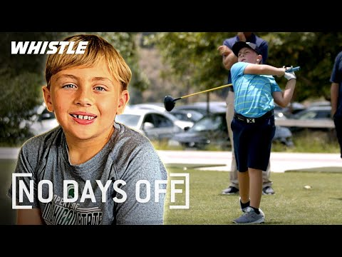 10-Year-Old Golf Prodigy Has A MONSTER Swing!