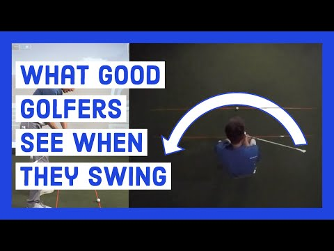 What GOOD Golfers See When they Swing