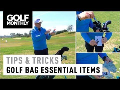Essential items for your golf bag I Tips & Tricks I Golf Monthly