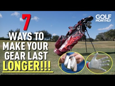 7 Ways To Make Your Golf Gear Last Longer!! Golf Monthly