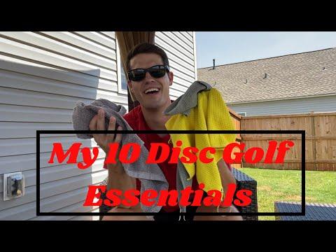 My Top 10 Disc Golf Essentials | TEAM INFINITE DISCS