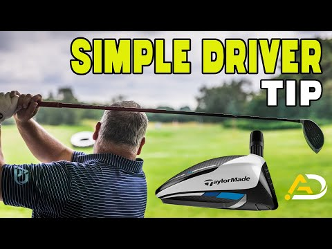 Super Simple Driver Tip ( Golf Swing )