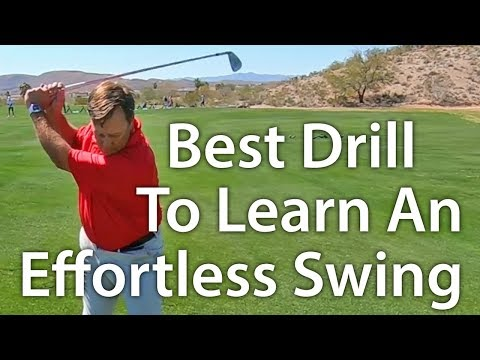 Best Drill For An Effortless Golf Swing