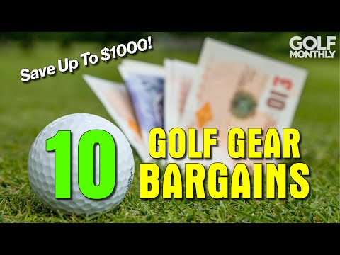 10 GOLF GEAR BARGAINS!!