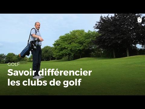 Savoir différencier clubs de golf | Golf