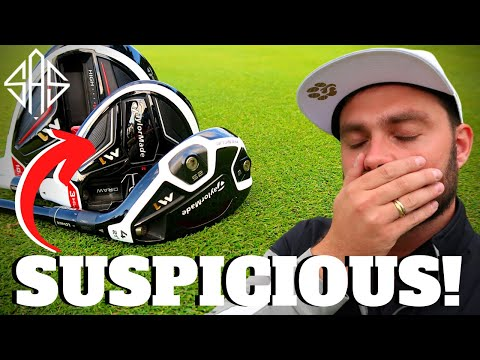 THESE GOLF CLUBS I BOUGHT SEEM TO BE VERY SUSPICIOUS…