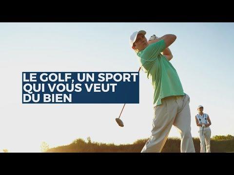 Le golf un sport qui vous veut du bien