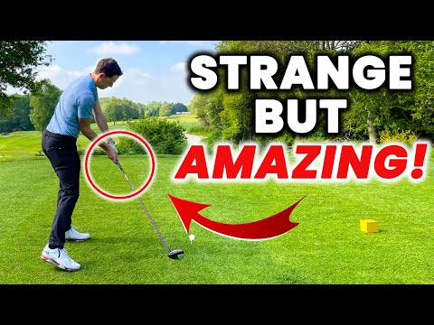 Possibly the FASTEST way to improve your Driver Swing – WARNING! Strange but it WORKS